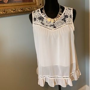 BEAUTIFUL SUMMER BLOUSE NWOT